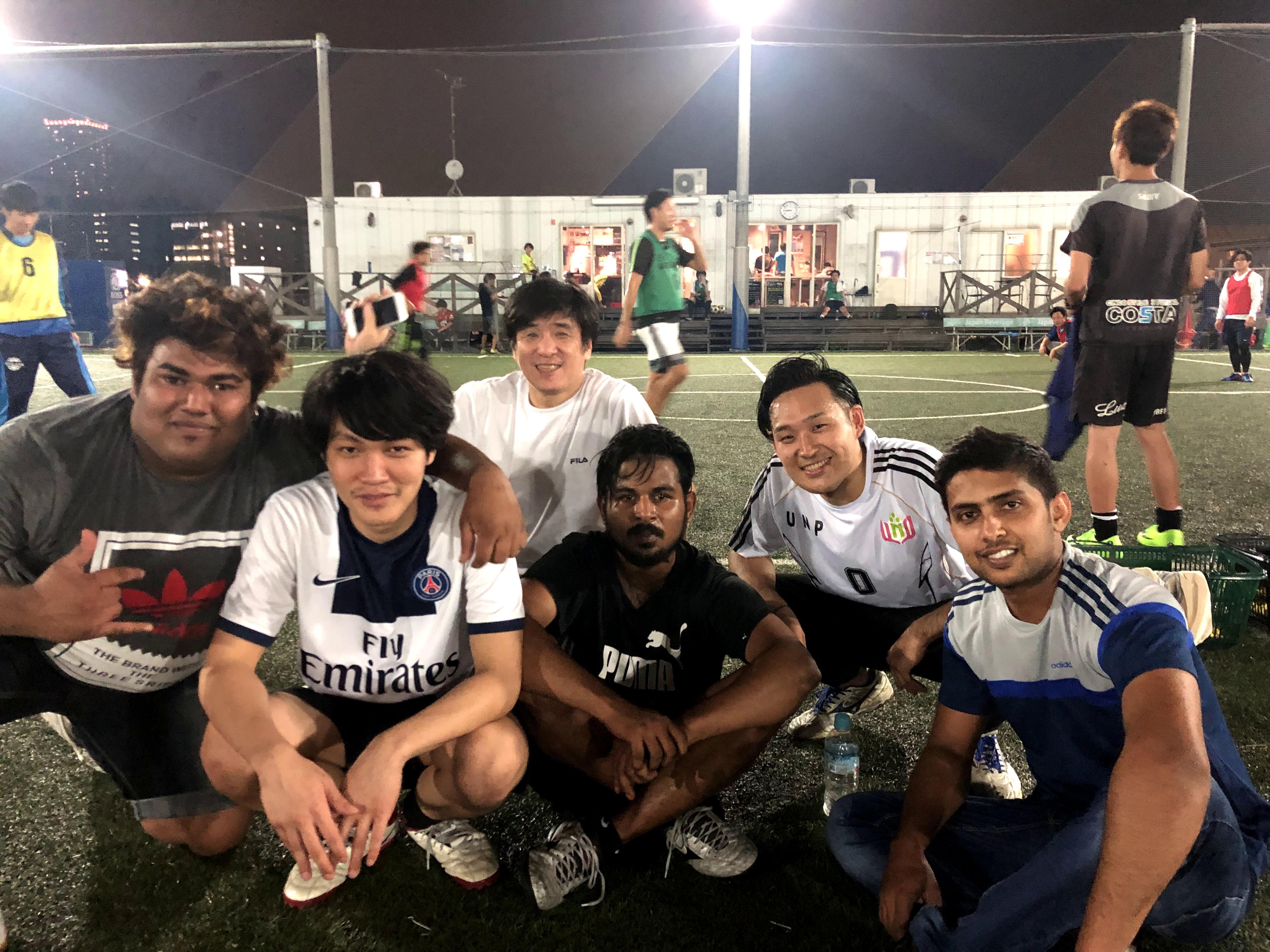 Football practice (September)