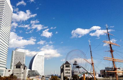 富有魅力的橫濱照片