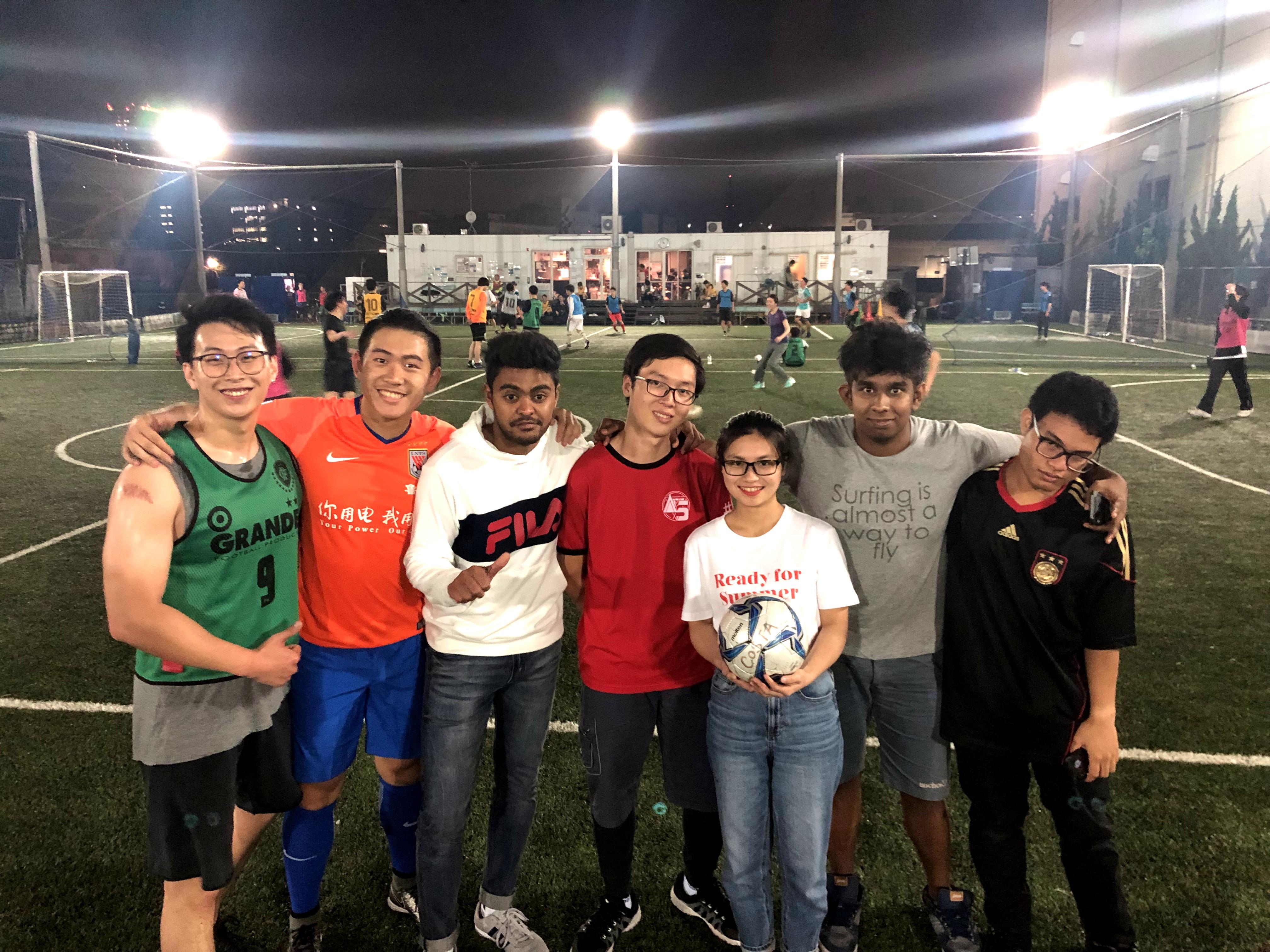 五人制足球 5月的練習