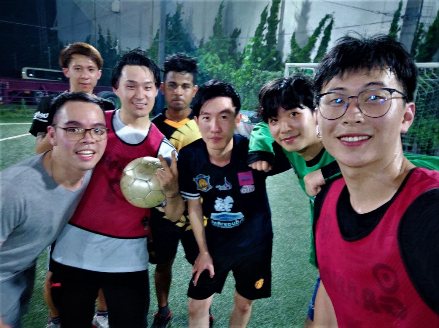 室內五人制足球 7月的練習