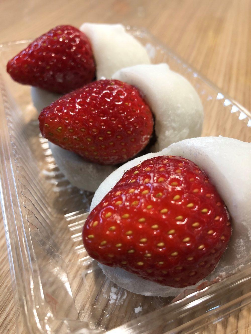 日本的甜食‧和菓子 ~草莓大福~