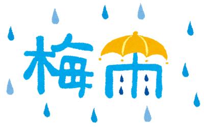 梅雨(つゆ)